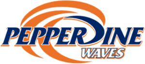 Peperdine Waves logo