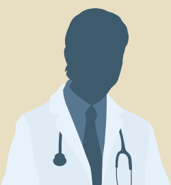 illustrated headshot of male doctor