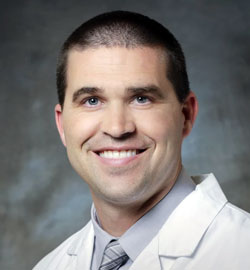 Doctor Clint Soppe MD headshot
