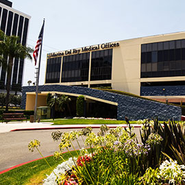 Marina Del Rey medical location
