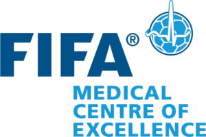 Fédération Internationale de Football Association FIFA medical centre of excellence logo