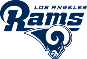 los angeles rams navy logo